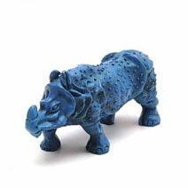 Rinocer albastru, Remediu Feng Shui pentru protectie