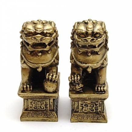 Perecehe de Caini Fu, Remediu Feng Shui pentru protectie