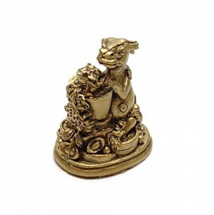 Bivol cu pepita si broasca norocoasa, remediu Feng Shui pentru bani, bunastare si prosperitatea