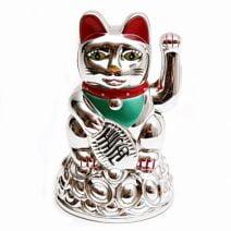 Pisica norocoasa Maneki Neko, remediu Feng Shui pentru bani, bunastare si prosperitatea