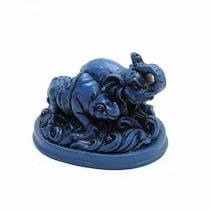 Elefant si rinocer albastru, Remediu Feng Shui pentru protectie