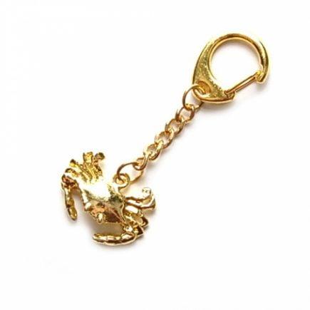 Breloc cu crabul norocos, remediu Feng Shui pentru succes, cariera, loc de munca, serviciu, job, angajare