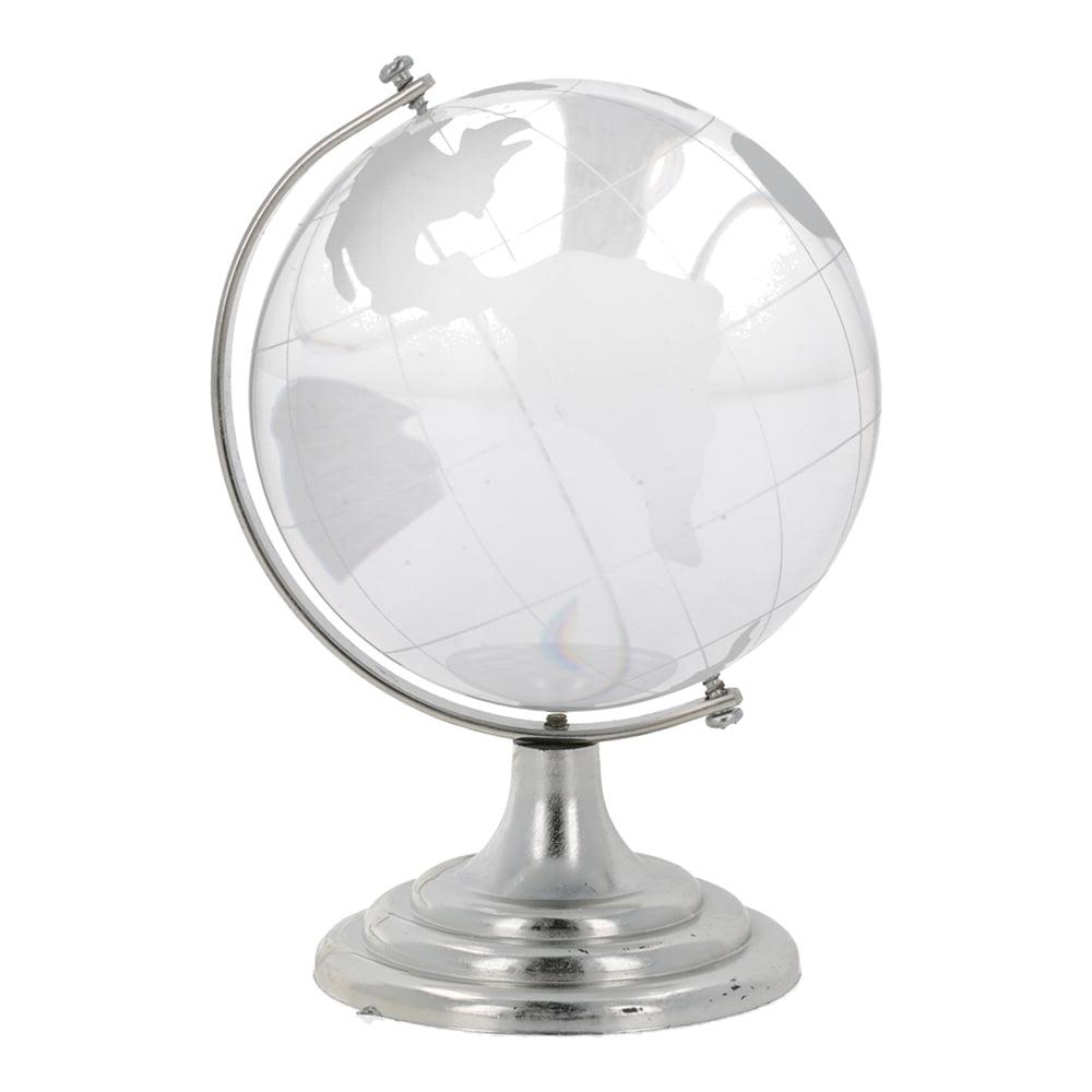Glob pamantesc din cristal 80 mm-0