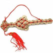 Sabie din monede, remediu Feng Shui pentru protectie, bani, prosperitate si bunastare