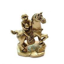 Maimuta cu piersica calare pe cal, Remediu Feng Shui pentru cariera