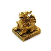 Pi Yao auriu din rasina, Remediu Feng Shui pentru protectie si bunastare