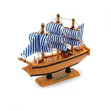 Corabia bogatiei din lemn mica, Remediu Feng Shui pentru abundenta si prosperitate