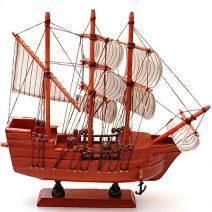 Corabia bogatiei din lemn mare, remediu Feng Shui pentru abundenta si bunastare