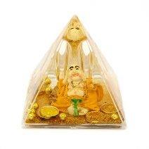 Piramida Feng Shui - Buddha cu pepita, Remediu Feng Shui pentru bunastare si prosperitate