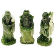 Fuk Luk Sau imitatie jad, Remediu Feng Shui pentru noroc