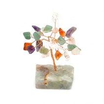 Copacel mixt pe suport de piatra, Remediu Feng Shui pentru bunastare si prosperitate