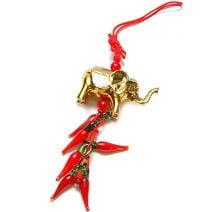 Canaf cu elefant si ardei rosii, Remediu Feng Shui pentru bunastare si prosperitate