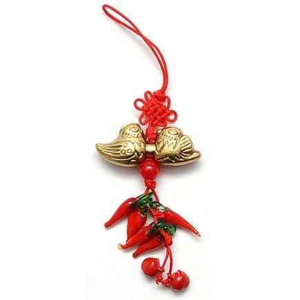 Canaf cu rate mandarine si ardei rosii, remediu Feng Shui pentru dragoste si casatorie