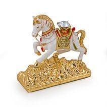 Caseta de bijuterii- Cal de vant Lung Ta, Remediu Feng Shui pentru noroc si prosperitate