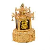 Pagoda cu morisca dorintelor aurie, remediu Feng Shui pentru noroc