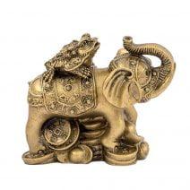Elefant cu broasca raioasa cu trei picioare - mediu-0