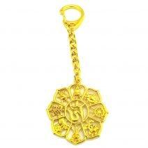 Amuleta cu cele 8 Simboluri Norocoase remediu Feng Shui
