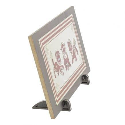 Placheta ( placa ) cu cei trei gardieni celesti, cei trei lei sau cei trei gardieni divini-5781
