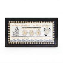 Placheta cu Guru Rinpoche si Scorpion Negru, Remediu Feng Shui pentru prosperitate