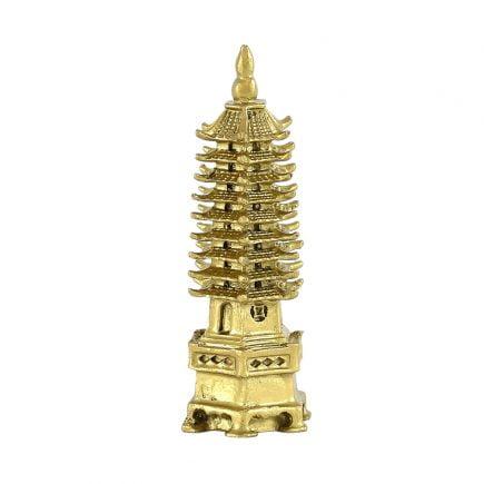 Pagoda celor noua nivele din rasina, medie, Remediu Feng Shui pentru cariera, sanatate, protectie, studii