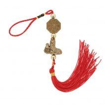 Amuleta cu caine, crap norocos si ba gua