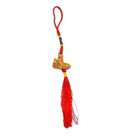 Amuleta cu caine si crap norocos, remediu pentru anul 2018, anul cainelui de pamant, remediu Feng Shui pentru bunastare, noroc si prosperitate