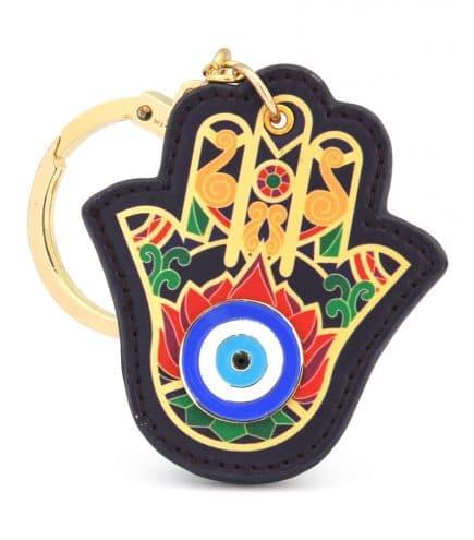 Amuleta - cu Mana lui Hamsa si Ochiul lui Horus-0