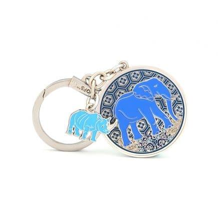 Amuleta de protectie cu elefant si rinocer-0