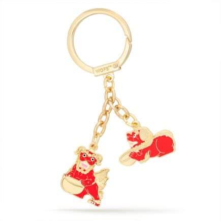 Amuleta cu Cainii Fu Rosii - TZI CHI KAU-0