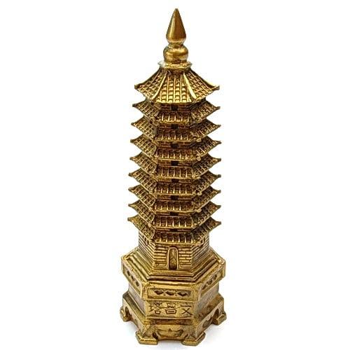 Pagoda celor noua nivele din rasina, Remediu Feng Shui pentru cariera, sanatate, protectie, studii