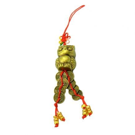 Amuleta cu bufnita si monede, remediu Feng Shui pentru studiu