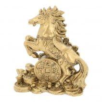 Calul Victoriei cu Moneda Prosperitatii