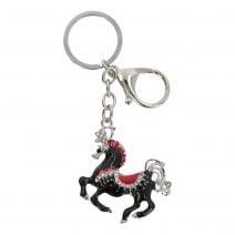 Amuleta cu Calul Victoriei negru