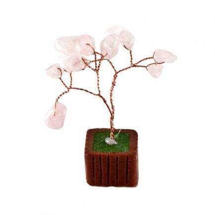 Copac cu cuart roz pe suport, Remediu Feng Shui pentru dragoste si casatorie