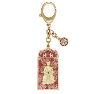 Amuleta breloc de protectie cu Guan Zhong, remediu pentru bunastare si prosperitate