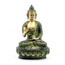 Statueta cu Buddha medicinei din bronz-0
