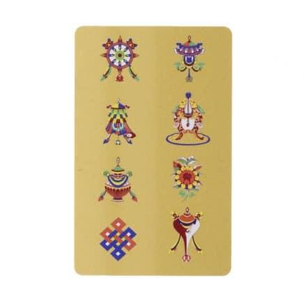 Card Feng Shui cu cele 8 simboluri-0