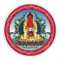Abtibild cu Amitabha Buddha, Remediu Feng Shui pentru bunastare