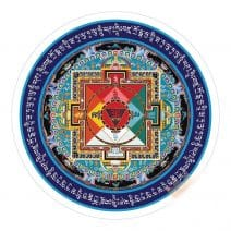 Abtibild cu Mandala Hayagriva 2019, Remediu Feng Shui pentru bunastare