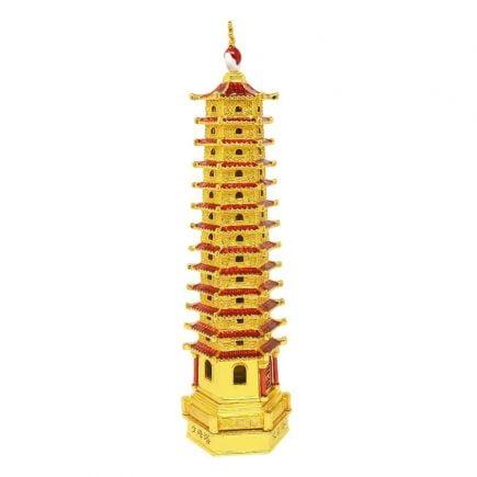 Amuleta cu Pagoda cu 13 nivele-remediu pentru invatatura (1)