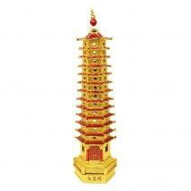Amuleta cu Pagoda cu 13 nivele-remediu pentru invatatura (3)