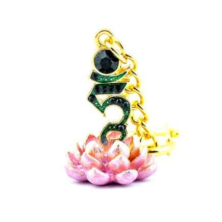 Amuleta cu Silaba Tam pe Lotus-0