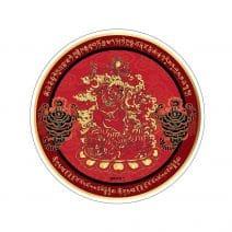 Abtibild - Sticker pentru protejarea familiei - Dorje Drolo - Guru Rinpoche - Scorpion-0