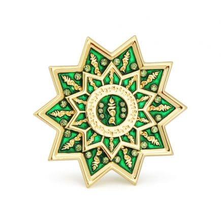 Amuleta de protectie cu Tara Verde cu silaba TAM si mantra OM TARE TUTTARE TURE SOHA