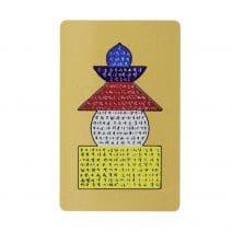 Card cu Pagoda celor cinci elemente-0