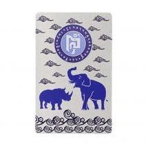 Card de protectie cu elefant si rinocer-0