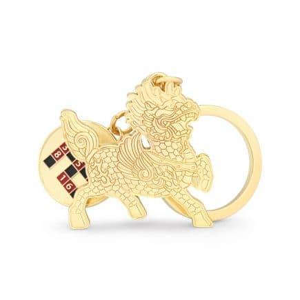 Amuleta de protectie Chi Lin cu HO TU - hotuuri-0