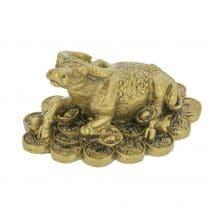 Bivol auriu pe monede norocoase si pepite-0