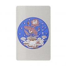 Card cu amuleta Anului 2020 cu Sobolan, Lotus si Dragon-0