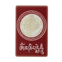Card cu amuleta pentru protejarea familiei - Dorje Drolo - Guru Rinpoche - Scorpion si om mani padme hum-6021